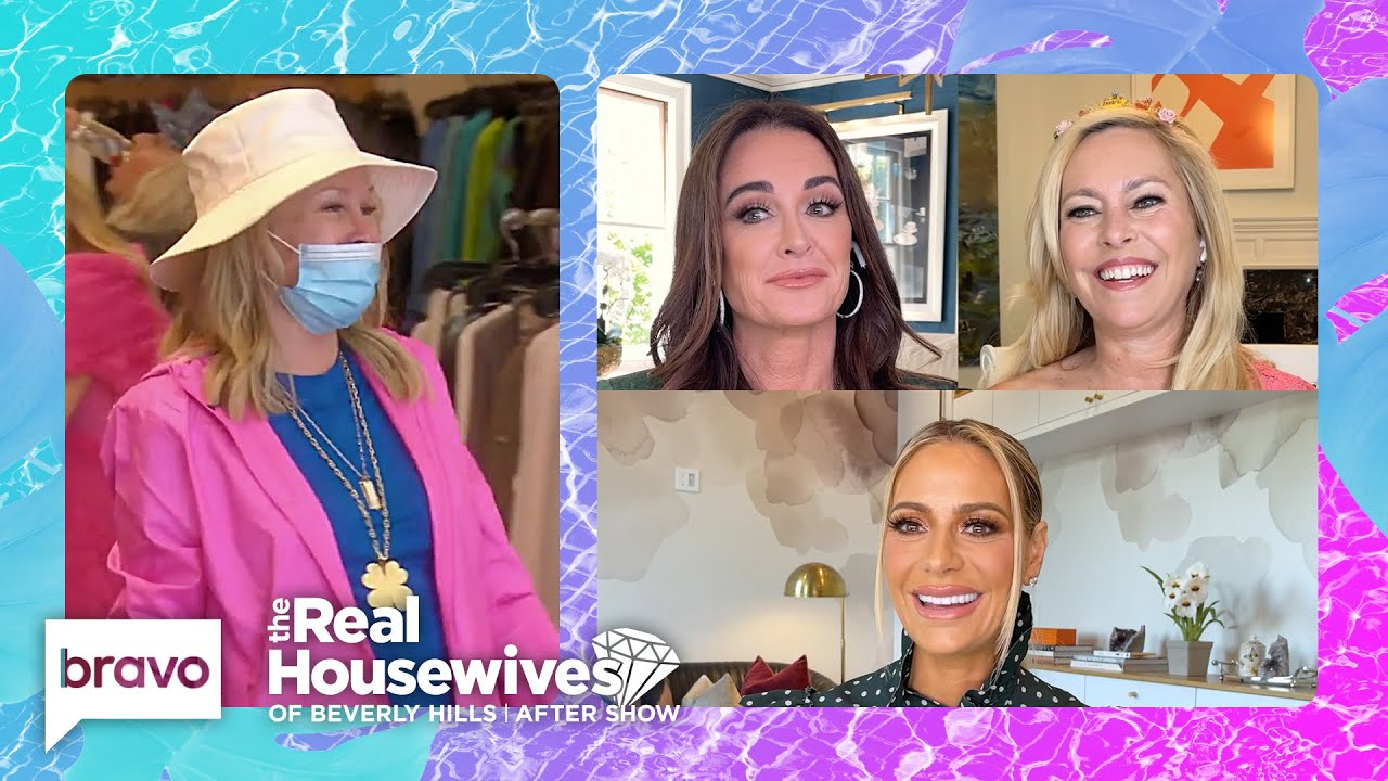 What Do the Housewives Think of Kathy Hilton's Fashion Choices?   RHOBH After Show S11 E2 Part 2