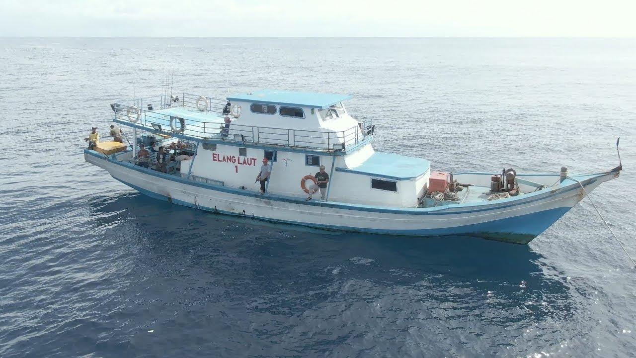 Review Kapal Mancing Km Elang Laut 1 Trip Binuangen Smr Youtube