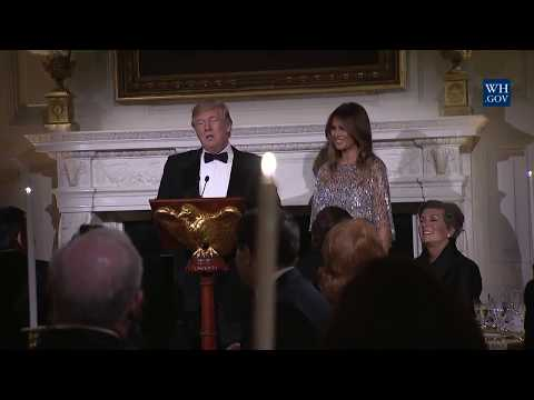 President Donald Trump and First Lady TRUMP Hosts the White House Historical Association Reception
