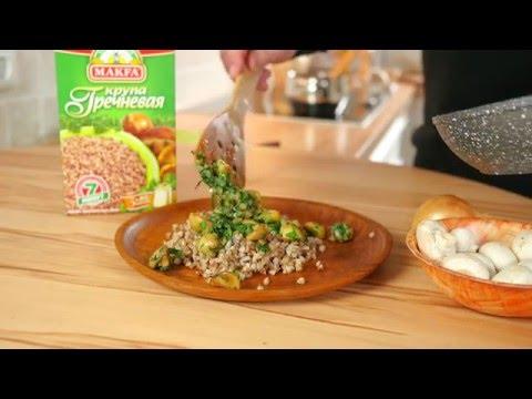 Buchweizen-Brei mit Pilzen // russische Küche //Osteuropäische ...