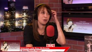 Rose McGowan, Actress - I Blame Dennis Hopper on Popcorn Talk