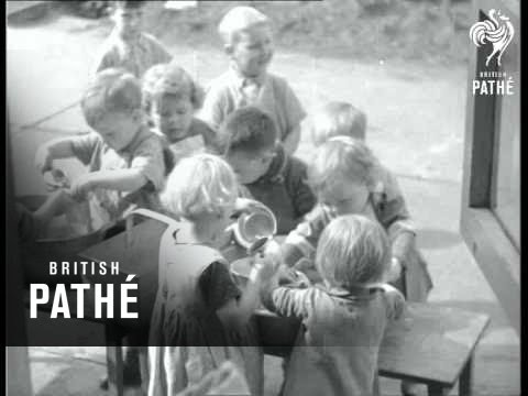 Retraining Unemployed & Day Nursery (1937)