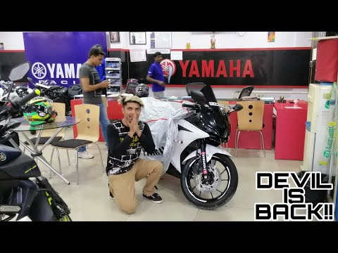 Finally DEVIL is BACK after Accident ! Modified R15 V3