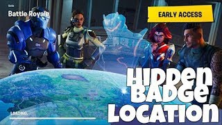 FREE BATTLE STAR LOCATION!! How To Find Secret Battle Star in Fortnite! Week 3 Challenge Star Guide