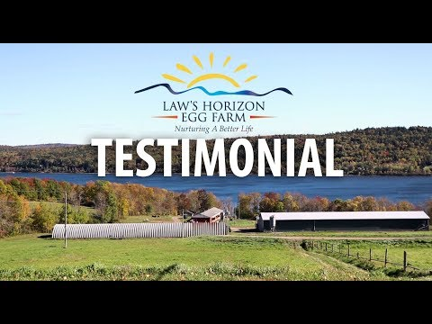 Law's Horizon Egg Farm Testimonial - Easy Kleen