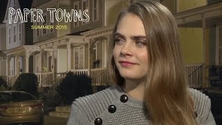 Paper Towns | Cara Delevingne & Nat Wolff Q&A | 20th Century FOX