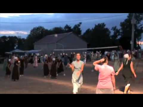 Amish Night time Volleyball Tournament