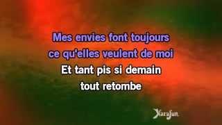 Karaoké Sur le fil - Jenifer *