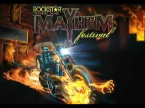 Rockstar Energy Drink Mayhem Festival - Live at Shoreline on 6.30.13