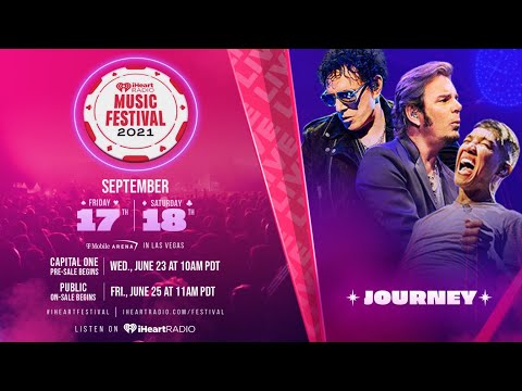 Journey live – iHeart Radio festival 2021 – High Quality