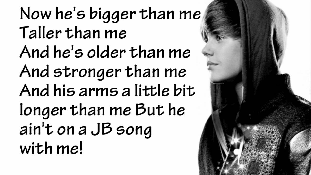 Justin Bieber - Never Say Never - Lyrics - YouTube