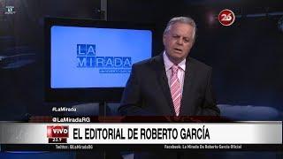 """Comentario editorial de Roberto García en su programa """"La mirada"""" - 16/10/17"""