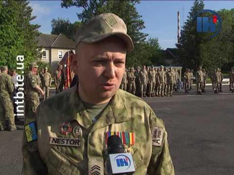 Телеканал ІНТБ: У Тернополі урочисто відзначили демобілізованих військових
