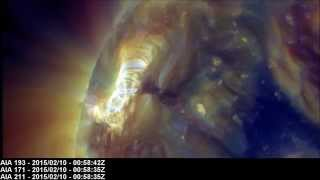 Solar X-ray Event: M2.4 Class Flare | February 10, 2015