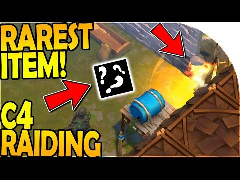 C4 RAIDING the *RAREST* ITEM in the Game! - Last Day On Earth Survival Update 1.8.3