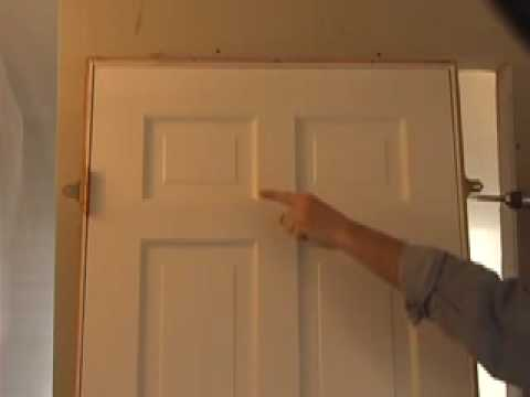 DOOR INSTALLATION (The Quick Door Hanger) (CC) - YouTube