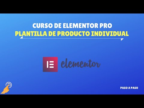Plantilla de producto individual de WooCommerce  - Curso de Elementor PRO thumbnail