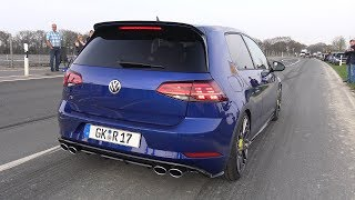 BEST OF VOLKSWAGEN GOLF R SOUNDS!
