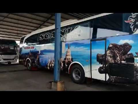 Kunjungan di Garasi PO Harapan Jaya Tulungagung [Menunggu Launching SHD Avante by Tentrem]