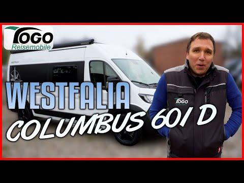 👉MODERNES DESIGN mit FUßBODENHEIZUNG🌨Westfalia Columbus 601 Kastenwagen 2021 | TOGO REISEMOBILE