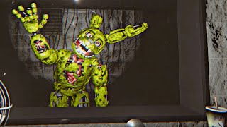 SPRINGTRAP empieza a ENFADARSE y me GRITA - Five Nights at Freddy's 3 Doom Mod REMAKE (FNAF Game)