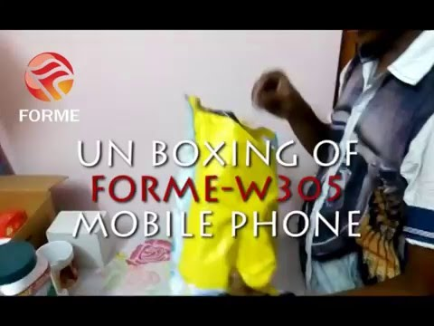 UNBOXING OF FORME MOBILE PHONE