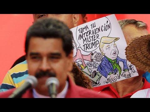 "Nicolás Maduro: ""Trump go home"""