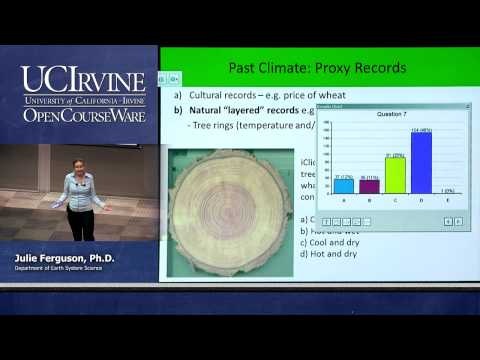 ESS 5. Lec. 17. The Atmosphere: Earth's Past Climates