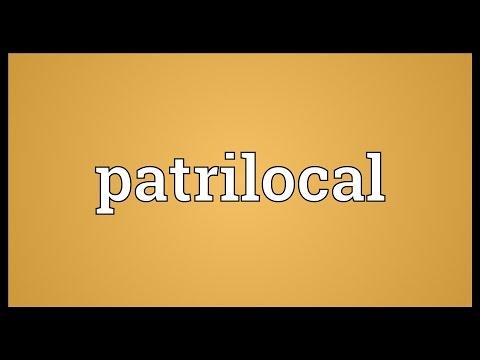 Header of patrilocal
