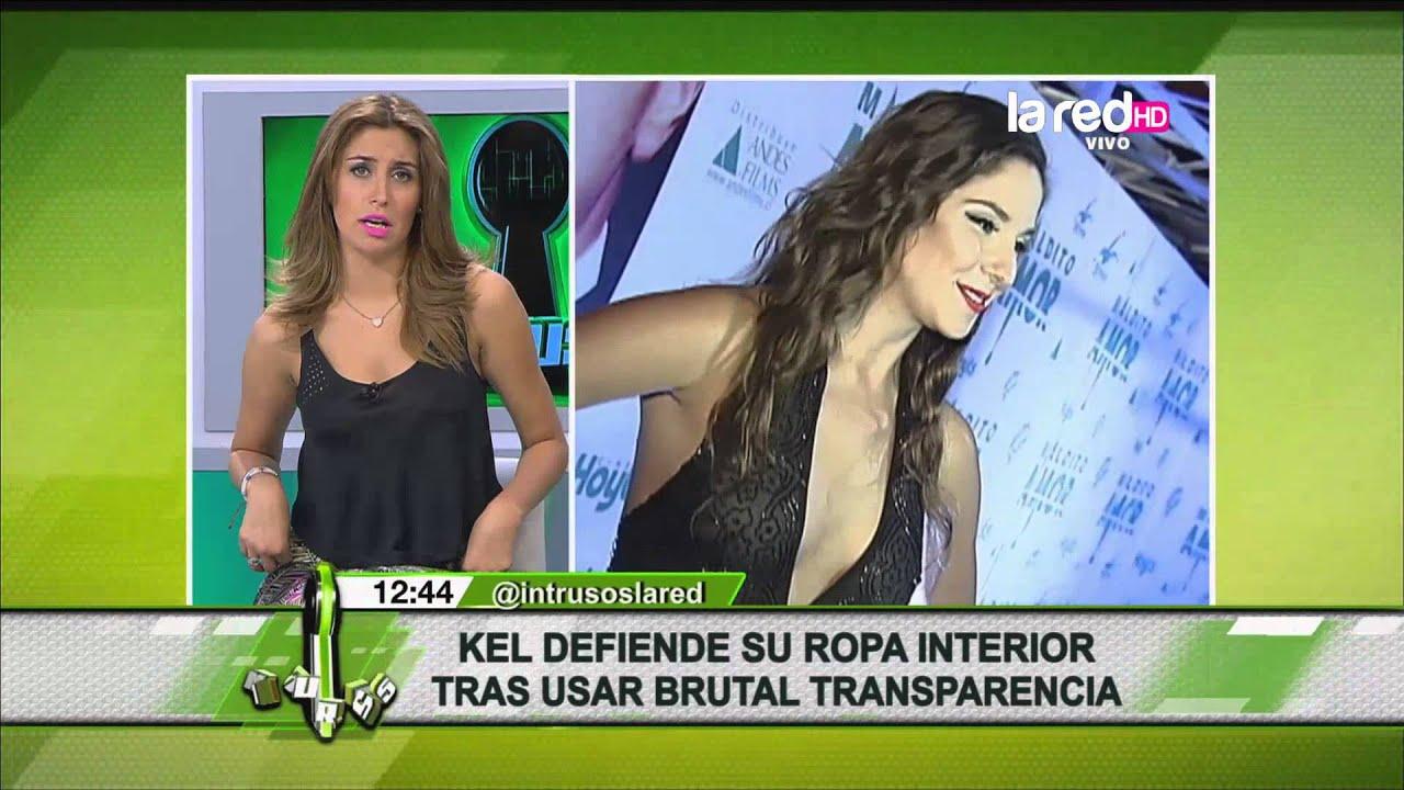 Kel defiende la ropa interior que us con vestido - Ropa interior transparente ...