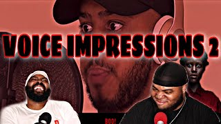 Hit Rap Songs in Voice Impressions 2! | M**der On My Mind, Space Cadet, Act Up + More! - (REACTION)
