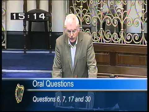 Joe Higgins questions Phil Hogan on water metering  video 2