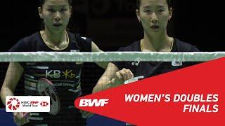 F | WD | MATSUYAMA/SHIDA (JPN) [3] Vs CHANG/JUNG (KOR) [4] | BWF 2019