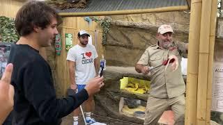DAVID DOBRIK Feeding Alligators