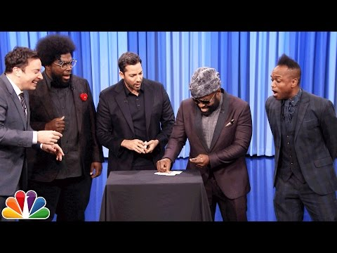 Thumbnail: David Blaine Shocks Jimmy and The Roots with Magic Tricks