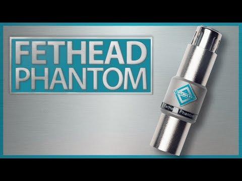 FetHead Phantom: Louder, Cleaner Audio for Condenser Microphones