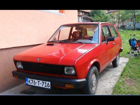 1981 Zastava yugo 45a rojo 1:43 Ixo es Altaya Mace Oldtimer Legendary serbia red