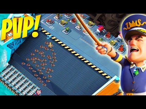 LIVE PvP is Finally HERE in Boom Beach! NEW Warships Update