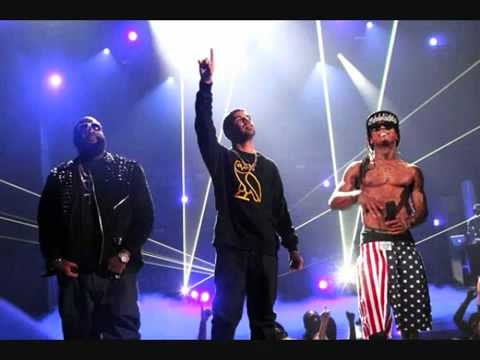 Lil Wayne Ft Drake & Rick Ross  She Will Remix