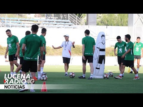 Video: El Ciudad de Lucena CD arranca la pretemporada
