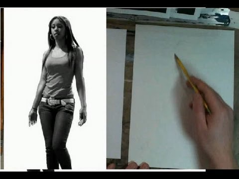 Interactive Figure Drawing Class- How to Draw a Female Model
