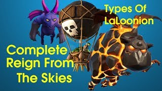 Complete Reign From The Skies event|Laloonion attack strategy| Clash of Clans|Clash Nepal