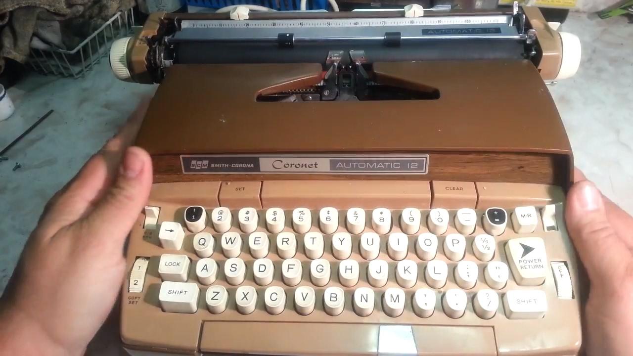 SMITH CORONA ELECTRONIC TYPEWRITER RIBBON