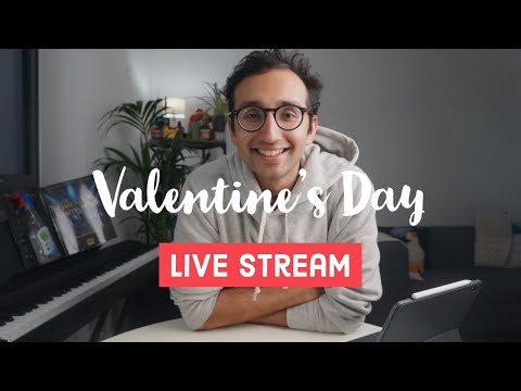 Valentine's Day Live Stream