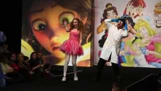 CARTOON THEMED PERFORMANCE | CPF Fashion show | Lyne Gandour