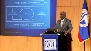Targeting the Social Determinants of Disparities in Health - Urban Health Disparities Summit 2013