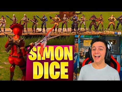 SIMON DICE: 'MATAOS CON EL PICO!!' - Minijuego FORTNITE: Battle Royale