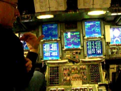 Sky/Alan Poindexter flying Space Shuttle Simulator