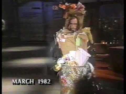Chris Elliott's First Skit on Late Night, March 1982