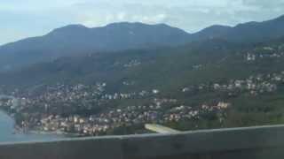 Driving Along The Dalmatian Coast Near Rijeka, Croatia